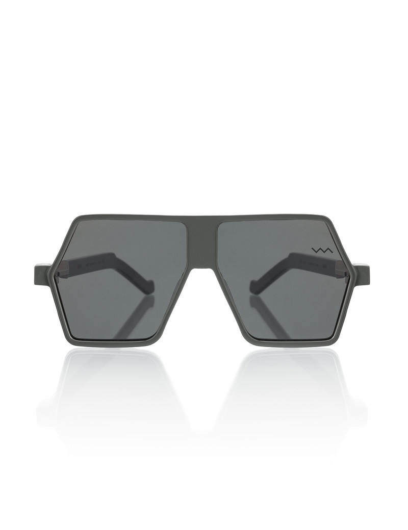 Dark Grey Hexagon Frame