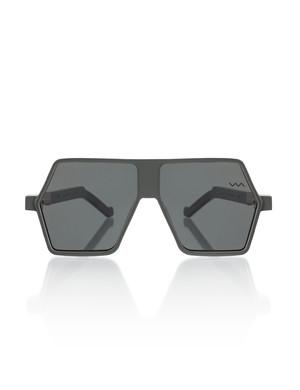 Dark Grey Hexagon Frame